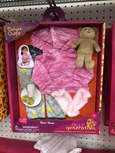 Our generation clothing Ropa American Girl, American Girl Doll Room, American Girl Crafts, American Girl Furniture, Our Generation Doll Accessories, My Life Doll Accessories, American Girl Accessories, Barbie Doll Set, Barbie Toys