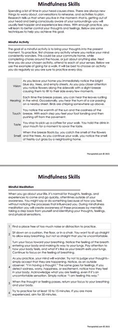 DBT Mindfulness Skills Preview