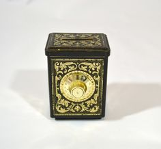 Vintage Avon Bank Safe Tin by KrisVintageClothing on Etsy, $9.99
