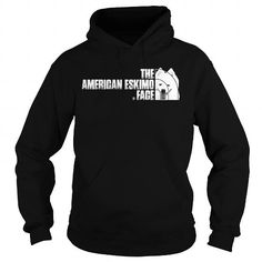 Awesome Tee The American Eskimo Face T-Shirts