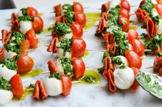 Recipes Archives - Page 5 of 23 - Rachel Schultz Caprese Appetizer, Skewer Appetizers, Appetizers For Party, Caprese Salad, Pasta Salad, Basil Recipes, Italian Recipes, Salad Recipes, Easy Salads
