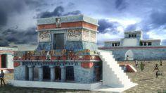 The Mayan ceremonial complex of Tulum by Juan Monsivais