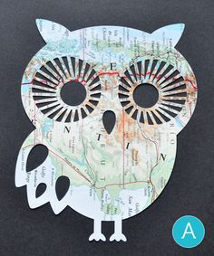 Papercut Owl from Freestyln