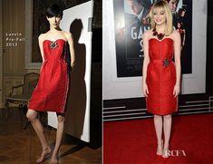 Emma Stone In Lanvin – 'Gangster Squad' LA Premiere