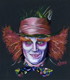 Mad Hatter Etsy listing at https://www.etsy.com/listing/215348476/johnny-depp-as-the-mad-hatter