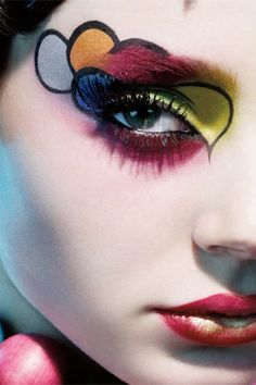 dark runway makeup -