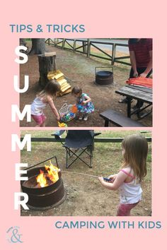 Here are a few Tips and Tricks for Camping with Kids I've picked up along the way. Camping with kids can a little intimidating but when planned right, it can be a rewarding family adventure! Camping With Kids, Family Camping, Family Adventure, 4 Kids, Along The Way, Things To Do, Awesome, Outdoor Decor, Tips