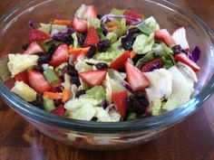 Vegetarian Recipes: Colorful Caribbean Salad