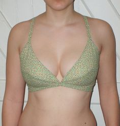 Bra pattern drafting tutorial. It's long but pretty thorough and the resultant bra is VERY comfortable.