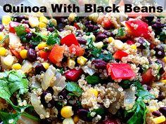 mammagranate: Quinoa With Black Beans