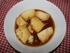 Postre: nuestra chilena Leche Asada Chilean Recipes, Garlic, Soup, Vegetables, Ethnic Recipes, Wings, Deserts, Cooking