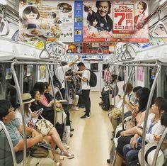 chikatetsu ちかてつ . . . #subway  #transit #train #ちかてつ #travel #travelgram #traveling #travelphotography #tokyo #東京都 #japan #日本 #japanese #asia