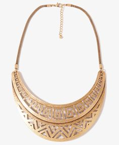 Every lady should own a bib necklace. It is a necklace that is bold & makes a statement.