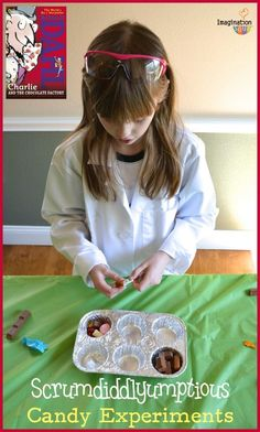 Charlie and the Chocolate Factory Candy Experiments