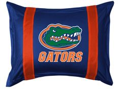 Florida Gators NCAA Sidelines Pillow Sham/Cover/Case