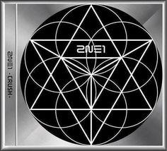 2NE1 - CRUSH / Dark COVER