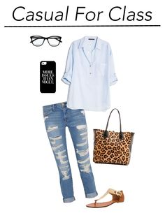 Class and Sass: School in Style No. 1: The Lady in Leopard