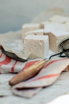 Such a fun idea! I love balsamic in desserts, but never thought to incorporate it into marshmallows! Balsamic Marshamllows via BAKED the blog.