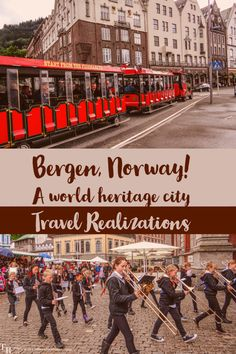The name of this small town on the lap of the mountain is Bergen, the cultural capital of Norway and a world heritage city. Bergen, Capital Of Norway, Cultural Capital, Norway Travel, Travel Usa, Travel Tips, Photo Essay, European Travel, Small Towns