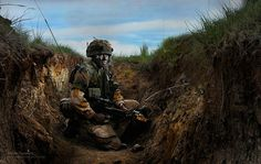 Soldier on Exercise at BATUS, Canada by Defence Images, via Flickr