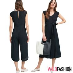 Jumpsuit, Dresses For Work, Fashion, Overalls, Moda, Fashion Styles, Jumpsuits, Catsuit, Fashion Illustrations