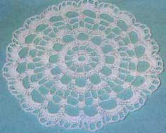 "Click the banners below for more popular patterns, available via mail or download! Round Doily FP132 Intermediate Skill Size: 8 ½"" diameter. Materials:Yarn Need"