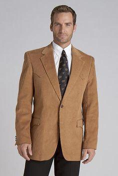 Lubbock Corduroy Sportcoat in Camel - CC4588