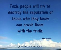 So true!! It's called a smear campaign..