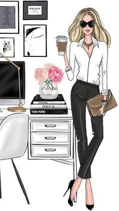 Ideas fashion drawing illustration style sketch for 2019 Art Mural Fashion, Fashion Art, Trendy Fashion, Girl Fashion, Fashion Design, Fashion Painting, Fashion Quotes, Style Fashion, Affordable Fashion