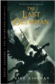The Last Olympian by Rick Riordan (Percy Jackson and the Olympians book 5) I have to admit, this series didn't drag in the middle, a 5 book rush of adventure and friendship. I hope those of you who haven't read this series consider it.