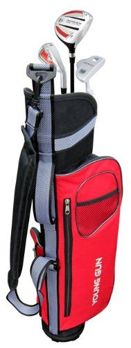 Young Gun EAGLE RED Junior golf club set & bag for kids Ages 9-11 RH at http://suliaszone.com/young-gun-eagle-red-junior-golf-club-set-bag-for-kids-ages-9-11-rh/