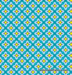 Fabric... Bijoux Tiled Primrose in Ice by Heather Bailey