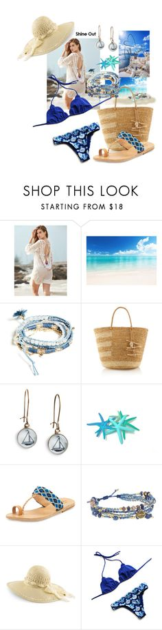 """""""🙂"""" by triciapigeontonkins ❤ liked on Polyvore featuring GUESS, Sensi Studio, Chart Metal Works, Elina Lebessi, Chan Luu and Love Always"""