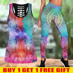Tops For Leggings, High Definition, Pilates, Digital Prints, Mandala, Workout, Tank Tops, Chic, Casual