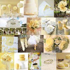 Wedding Inspiration theme in yellow -