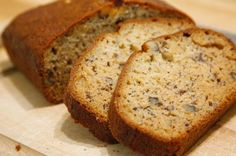 Banana Nut Bread recipe featured on DesktopCookbook. Ingredients for this Banana Nut Bread recipe include 1 stick oleo(margarine) or C shortening, 2 eggs, 1 C flour, and tsp salt. Bread Machine Recipes, Bread Recipes, Cooking Recipes, Juice Recipes, Detox Recipes, Cooking Tips, Easy Recipes, Vegan Recipes, Nut Bread Recipe