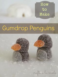 Crafts a la mode : Igloo Cakes and Penguin Gum Drops