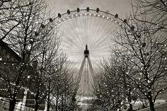 London! And a ferris wheel. Beauty
