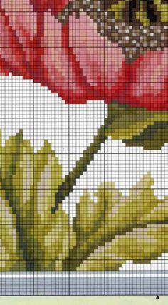Cross Stitch Art, Cross Stitch Flowers, Cross Stitching, Cross Stitch Embroidery, Embroidery Patterns, Cross Stitch Patterns, Hand Embroidery, Tapestry Crochet Patterns, Needlepoint Stitches