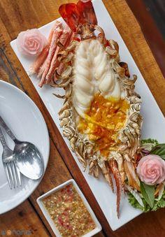 ฟินทั้งอาหารและบรรยากาศ! กุ้งแม่น้ำสดตัวโตๆที่ สวนอาหารแกรนด์เจ้าพระญา - Wongnai