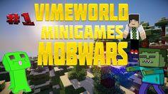 Без напряга? -Minecraft MobWars (Mini-Game)