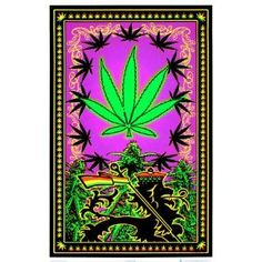 Marijuana Weed Pot Leaf Rasta Blacklight Poster, 23x35 Blacklight Poster Print, 23x35 Blacklight Poster Print, 23x35 (Kitchen) http://www.amazon.com/dp/B00198MWEY/?tag=wwwmoynulinfo-20 B00198MWEY