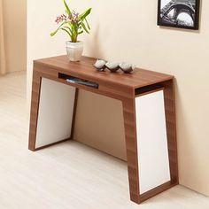 Lovely hallway table.