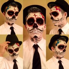 Halloween: Day of the Dead El Catrin look by Ginger Arvizu