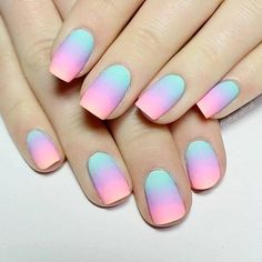 Do you want to use any Easter nail designs to celebrate the holiday? We have collected dozens of simple Easter nail designs, they are very easy to complete, let& take a look . Easter Nail Designs, Easter Nail Art, Simple Nail Art Designs, Nail Designs Spring, Polish Easter, Kid Nail Designs, Easter Color Nails, Bright Nail Designs, Spring Nails