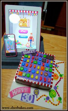 Life is too short, Eat Desserts: CANDY CRUSH SAGA CAKE