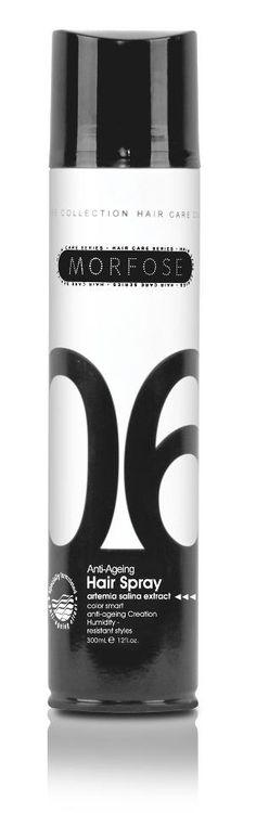 ANTI-AGEING - 06 | YAŞLANMA KARŞITI SAÇ SPREYİ    Hızlı kuruma ve tutuculuk özelliği sayesinde saça kalıcı şekiller vermenizi sağlar. Saçın üzerine oluşturduğu ince film tabakası sayesinde saçı dış etkilere karşı korur. Saçın doğal formunu korumasına yardımcı olarak parlak bir görünüm sağlar. İçeriğindeki ARTEMIA SALINA EKSTRAKTI sayesinde saçları dipten uca güçlendirir.