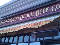 Huntington Beach Beer Company - Read all about our adventure at this establishment