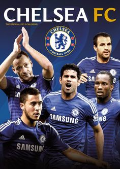 Chelsea FC 2015 Soccer Calendar | Find out more at- http://best-calendars.blogspot.com/