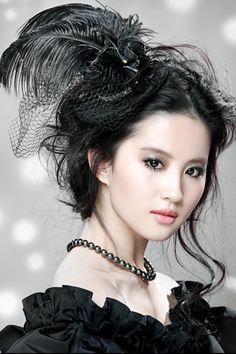 Name: Liu Yi Fei English name: Crystal Liu Real names: An Feng (birth name); Liu Xi Mei Zi (name after age Profession: Actress and si. Asian Celebrities, Beautiful Celebrities, Beautiful Chinese Women, China Girl, Asian Makeup, Chinese Actress, Asian Woman, Asian Beauty, Eye Candy
